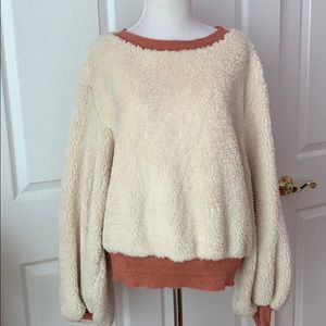 Anthropologie cozy sweater XS